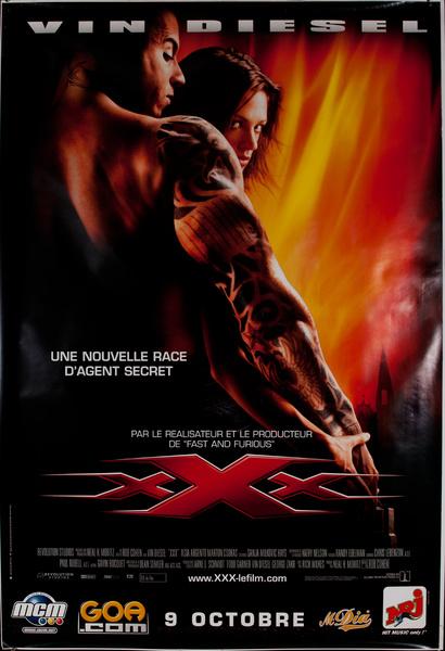 Vin Diesel XXX Original Vintage Movie Poster