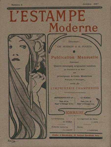 l'Estampe Moderne October 1897