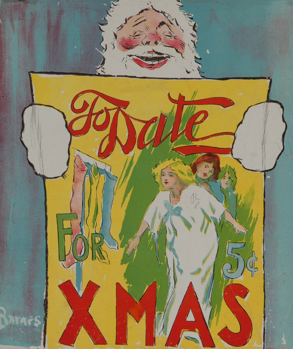 To Date For XMAS American Literary Poster
