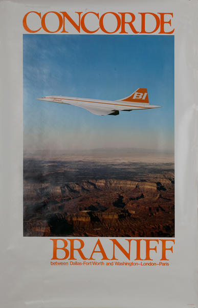 Concorde Braniff, Between Dallas-Fort Worth and Washington-London-Paris