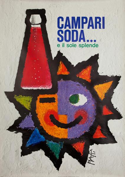 Campari Soda,  e il sole splende