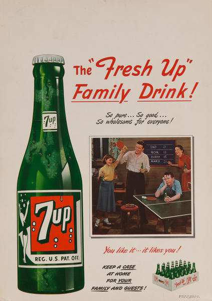 7 up The Fresh Up Family - You like it.. likes you!