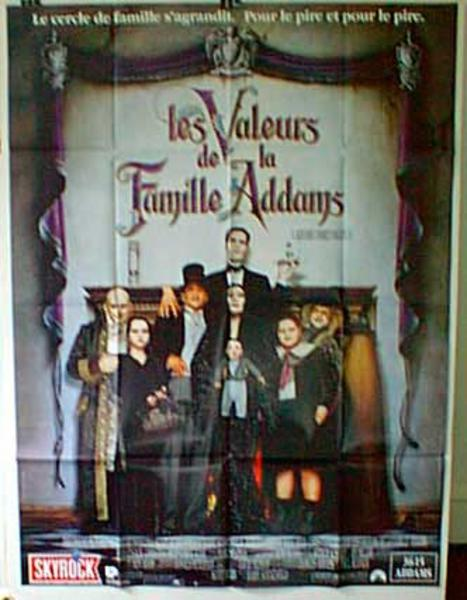 Addams Family Values Original French Movie Poster