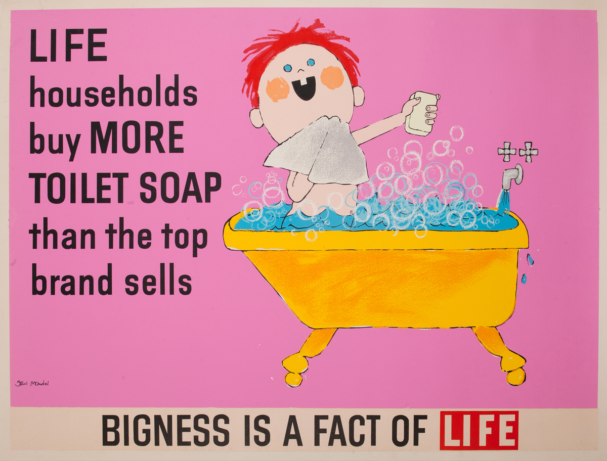 Bigness is a fact of Life, Toilet Soap