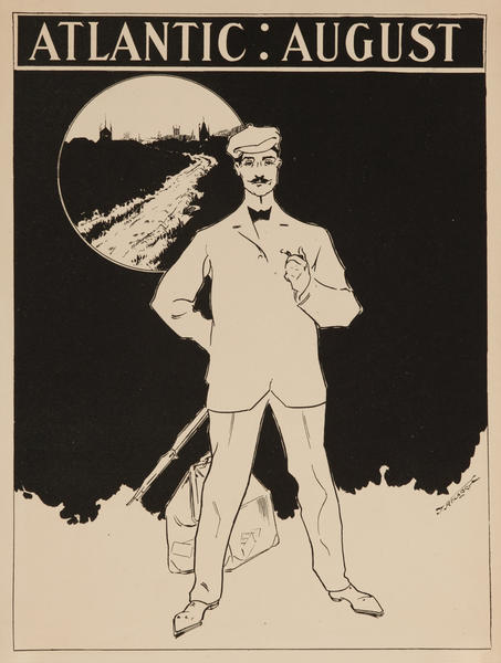 Atlantic August, American Literary Poster