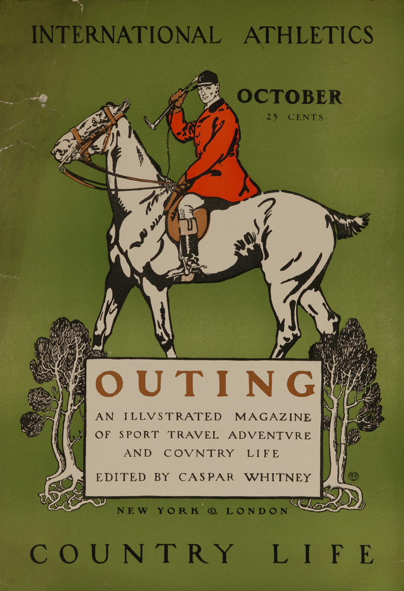 Outing Magazine October, International Athletics - Country Life