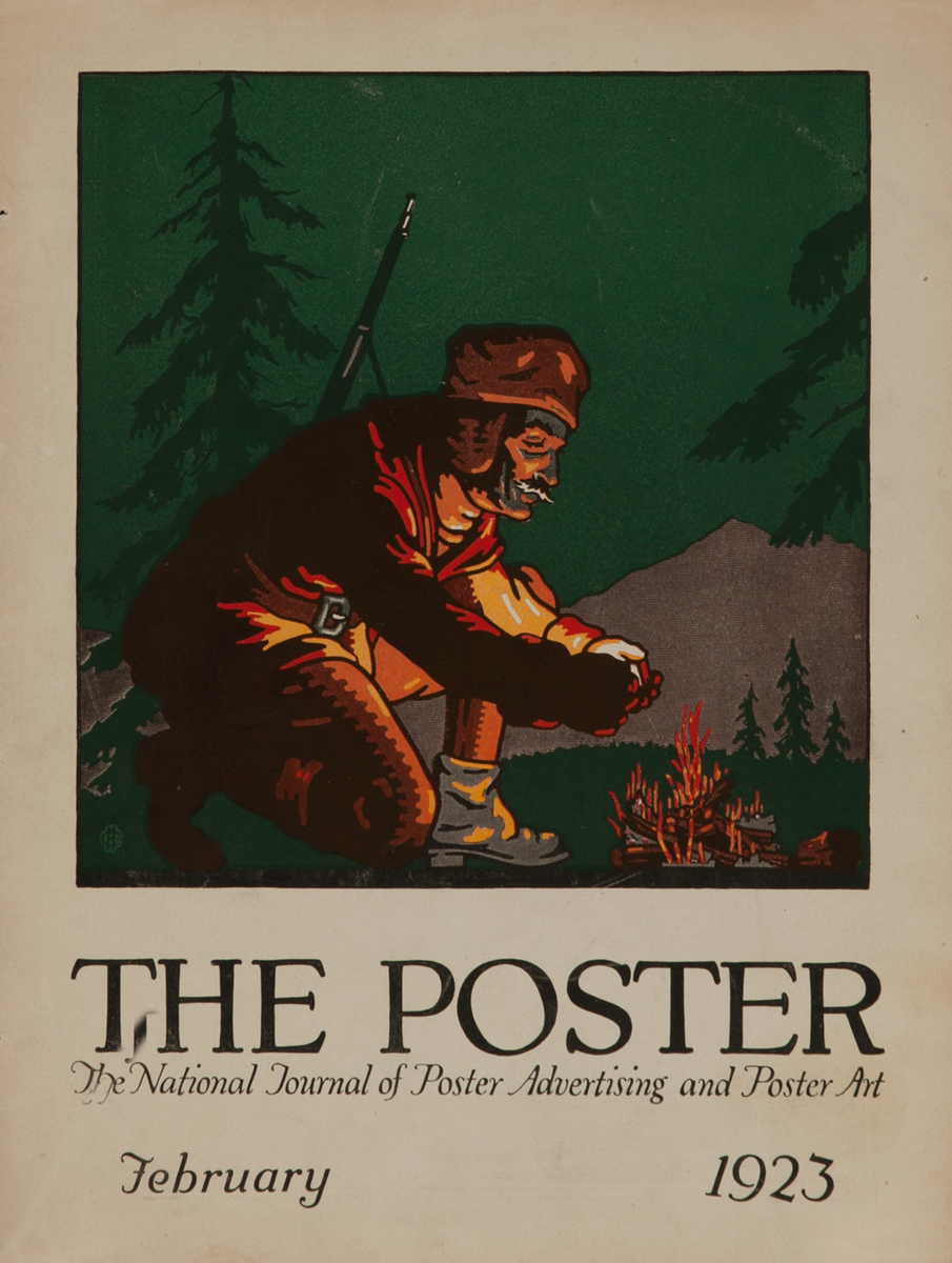 The Poster February 1923, Campfire