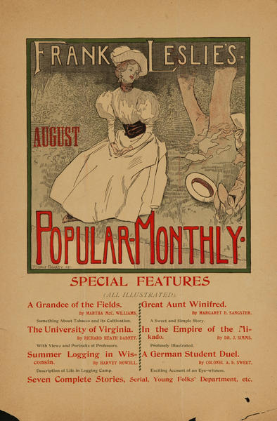 Frank Leslie's August Popular Monthly, A Grandee of the Fields
