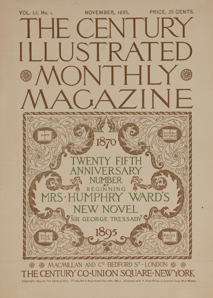The Century Illustrated Monthly Twenty Fifth Anniversary Number