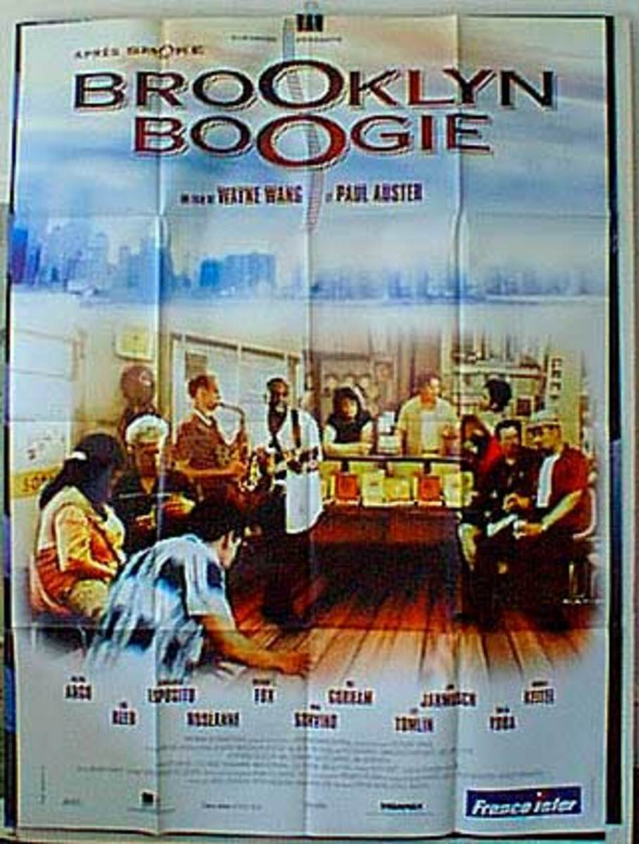 Brooklyn Boogie Original French Movie Poster
