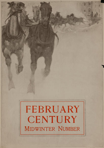 February Century, Midwinter Number American Literary Poster