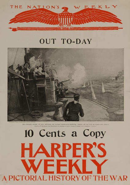 Harper's Weekly A Pictorial History of the War, Auxillary Cruiser St Paul