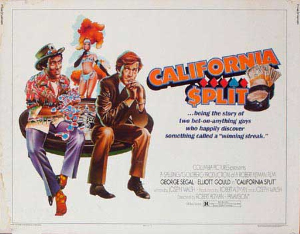 California Split Original Vintage Movie Poster