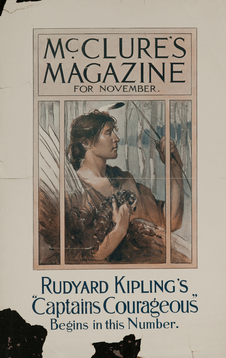 McClure's Magazine Rudyard Kipling's Captains Courageous
