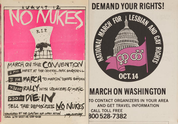August 12 No Nukes, RIP Cooling Tower / Demand Your Rights
