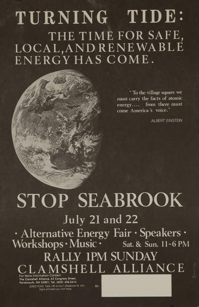 Turning Tide: The Time for Safe, Local, and Renewable Energy has Come. Stop Seabrook