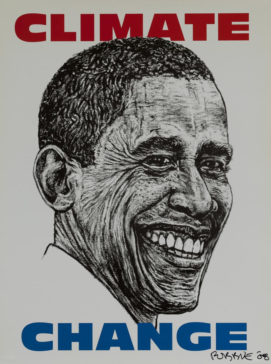 Barack Obaa 2008 Campaign Poster