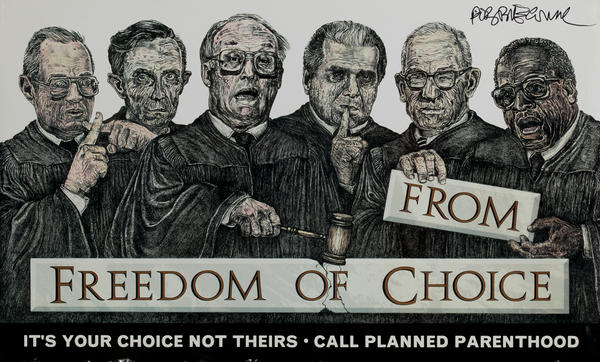 Freedom from Choice Protest Poster
