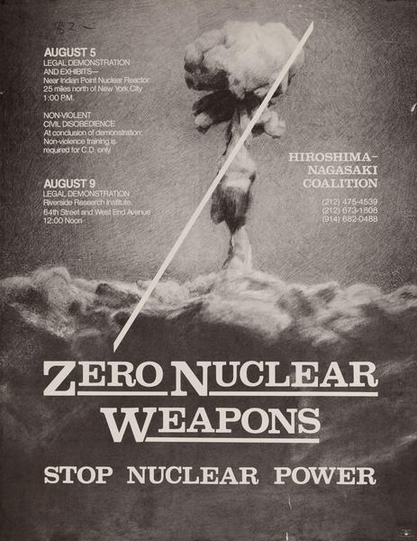 Zero Nuclear Weapons Stop Nuclear Power
