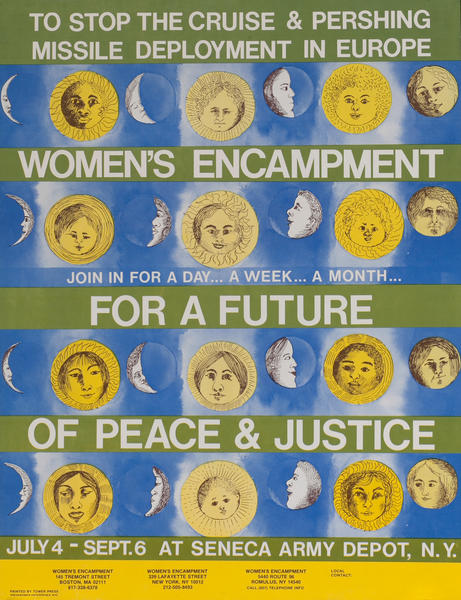 Women's encampment for a future of peace and justice, faces