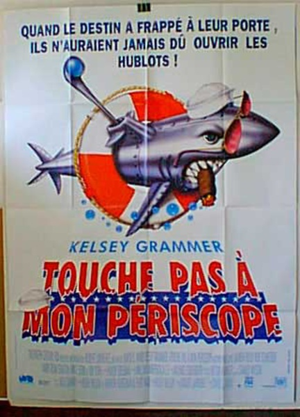 Down Periscope Original French Movie Poster