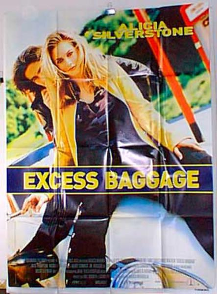 Excess Baggage Original French Movie Poster