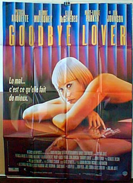 Goodbye Lover Original French Movie Poster