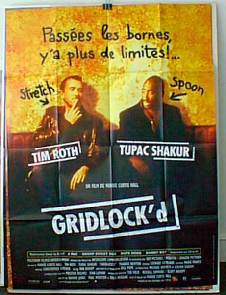 Gridlock'd Original French Movie Poster