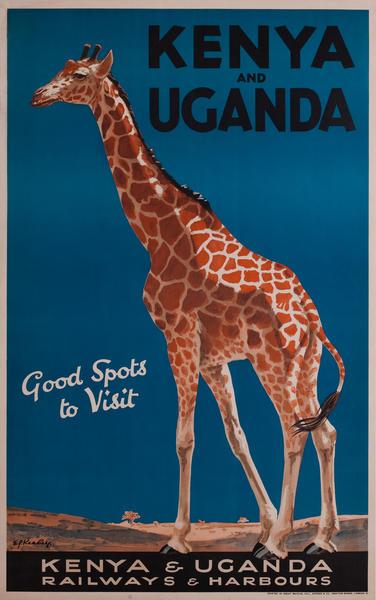 Kenya and Uganda Good Spots to Visit, Kenya and Uganda Railways & Harbours