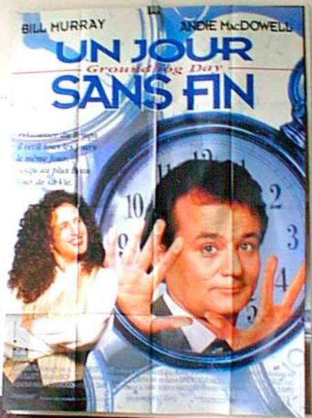Groundhog Day Original French Movie Poster