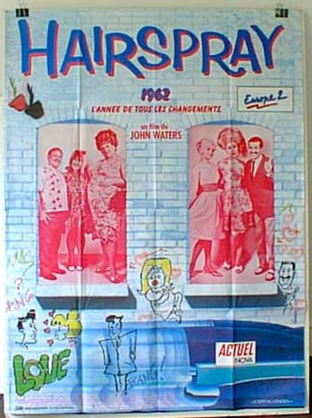 Hairspray Original French Movie Poster