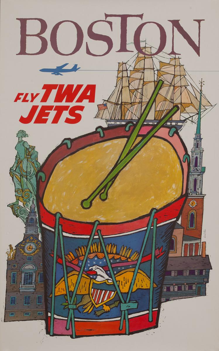 Boston Fly TWA Jets