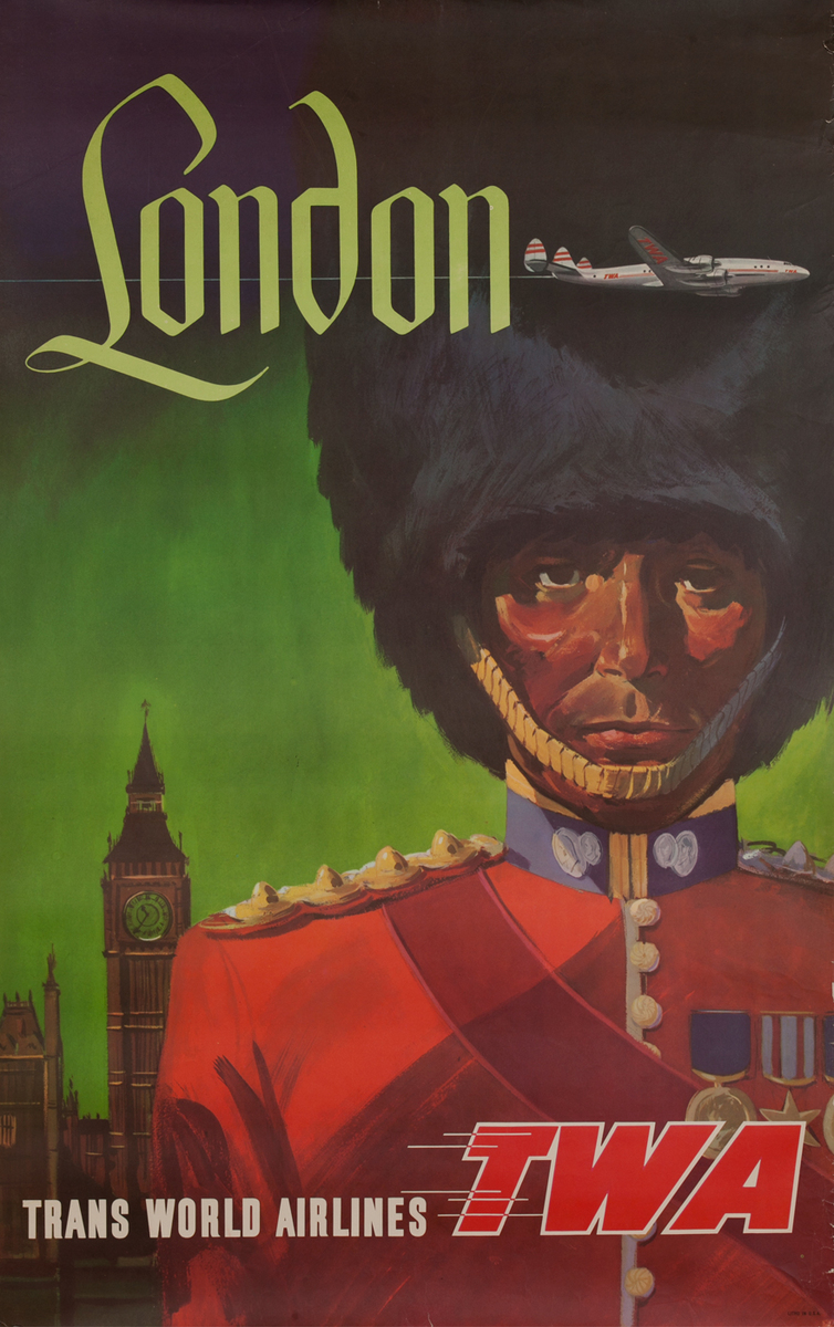 London Trans Worrld Airlines, Queen's Guard, Constellation