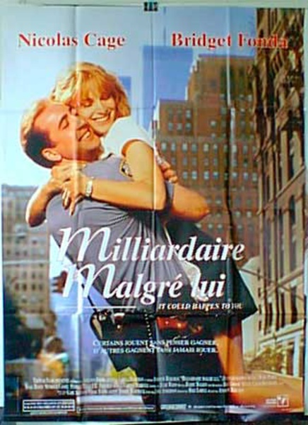 It Could Happen to You Original French Movie Poster