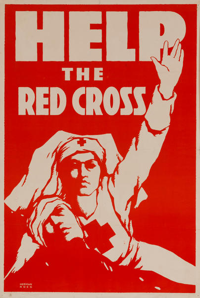 Help The Red Cross, WWI Poster