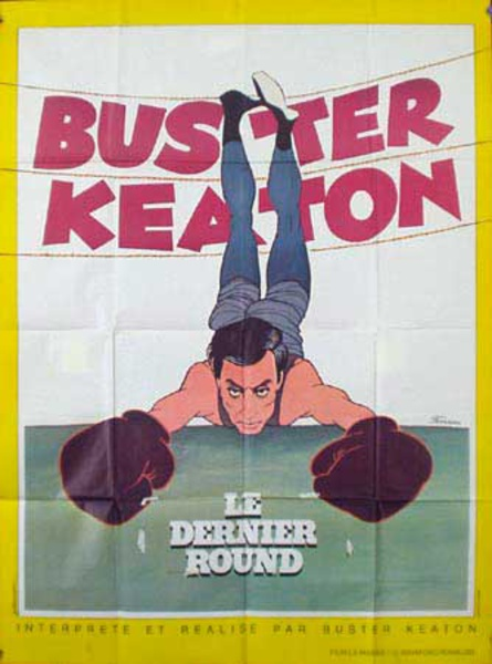 The Last Round Buster Keaton Original Vintage Movie Poster French Release