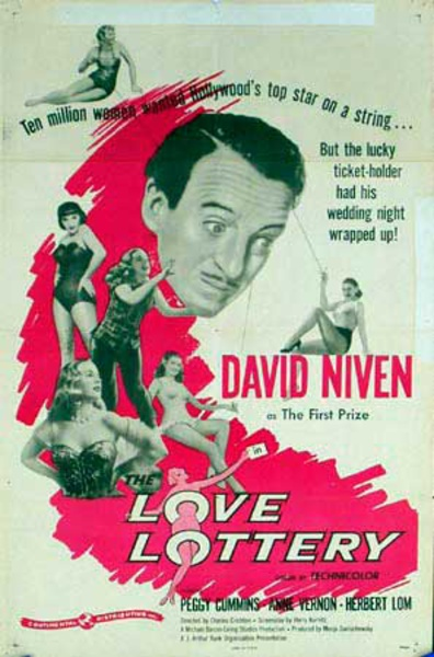 Love Lottery Original Vintage Movie Poster