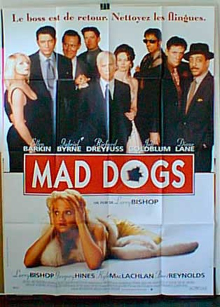 Mad Dogs Original French Movie Poster