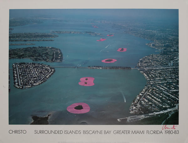 Surrounded Islands Biscayne Bay Grreater Miami 1980-1983