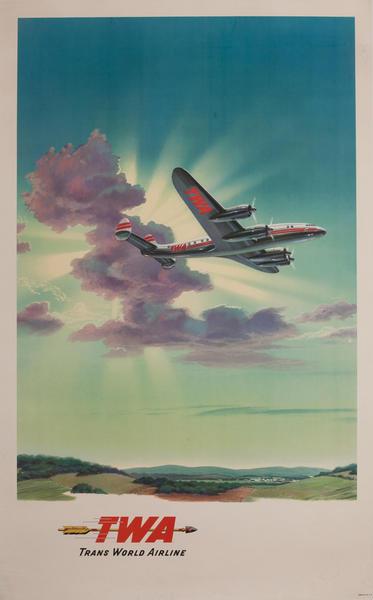 TWA Trans World Airlines, Golden Arrow Toward Blue Skies
