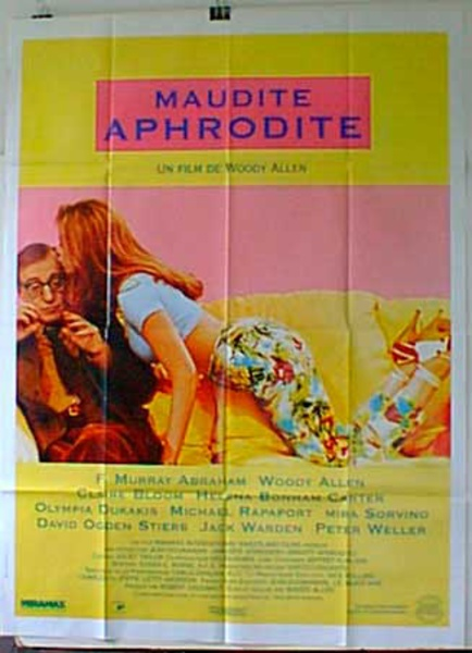 Mighty Aphrodite Original French Movie Poster