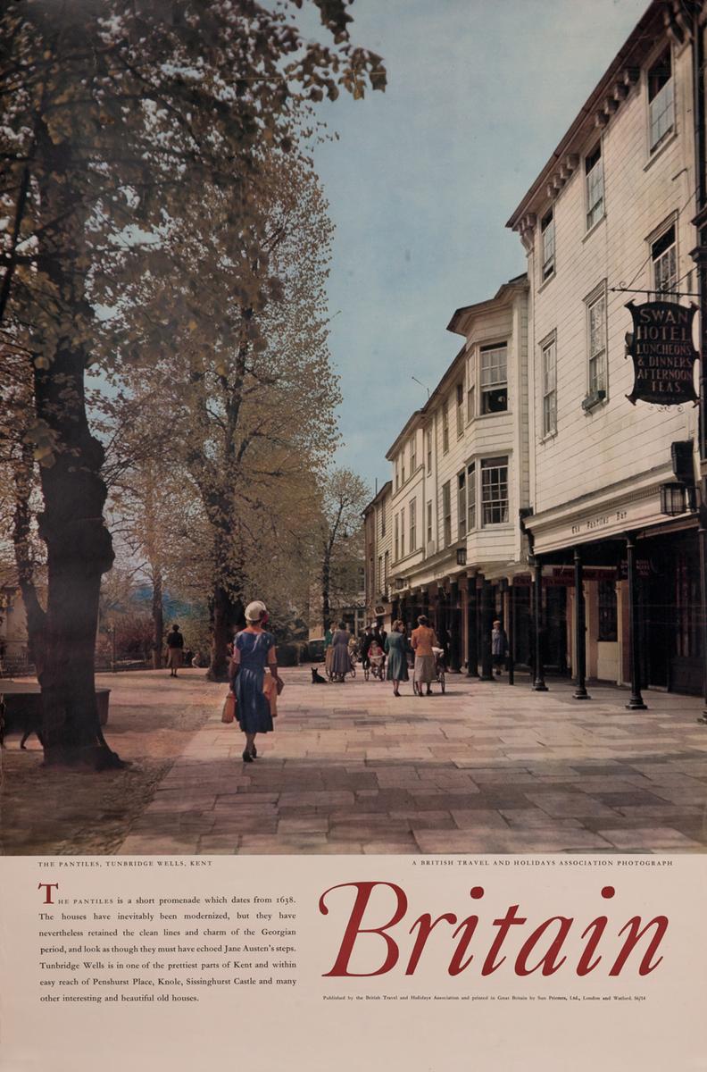 Britain - The Pantiles, Turrnbridge Well, Kent