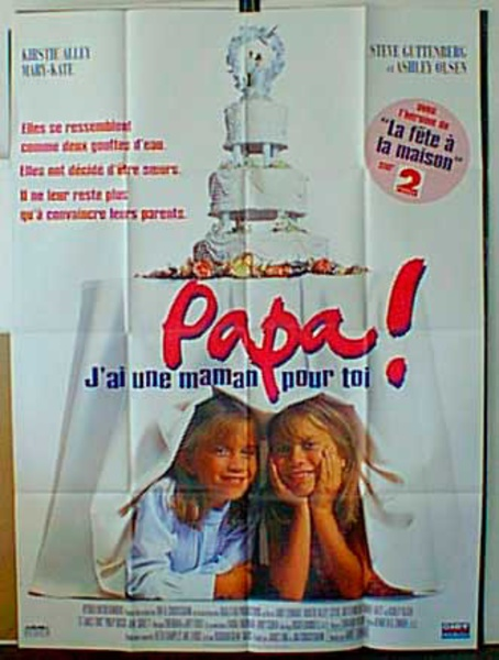 Papa Original French Movie Poster