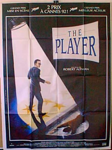 The Player Original French Movie Poster