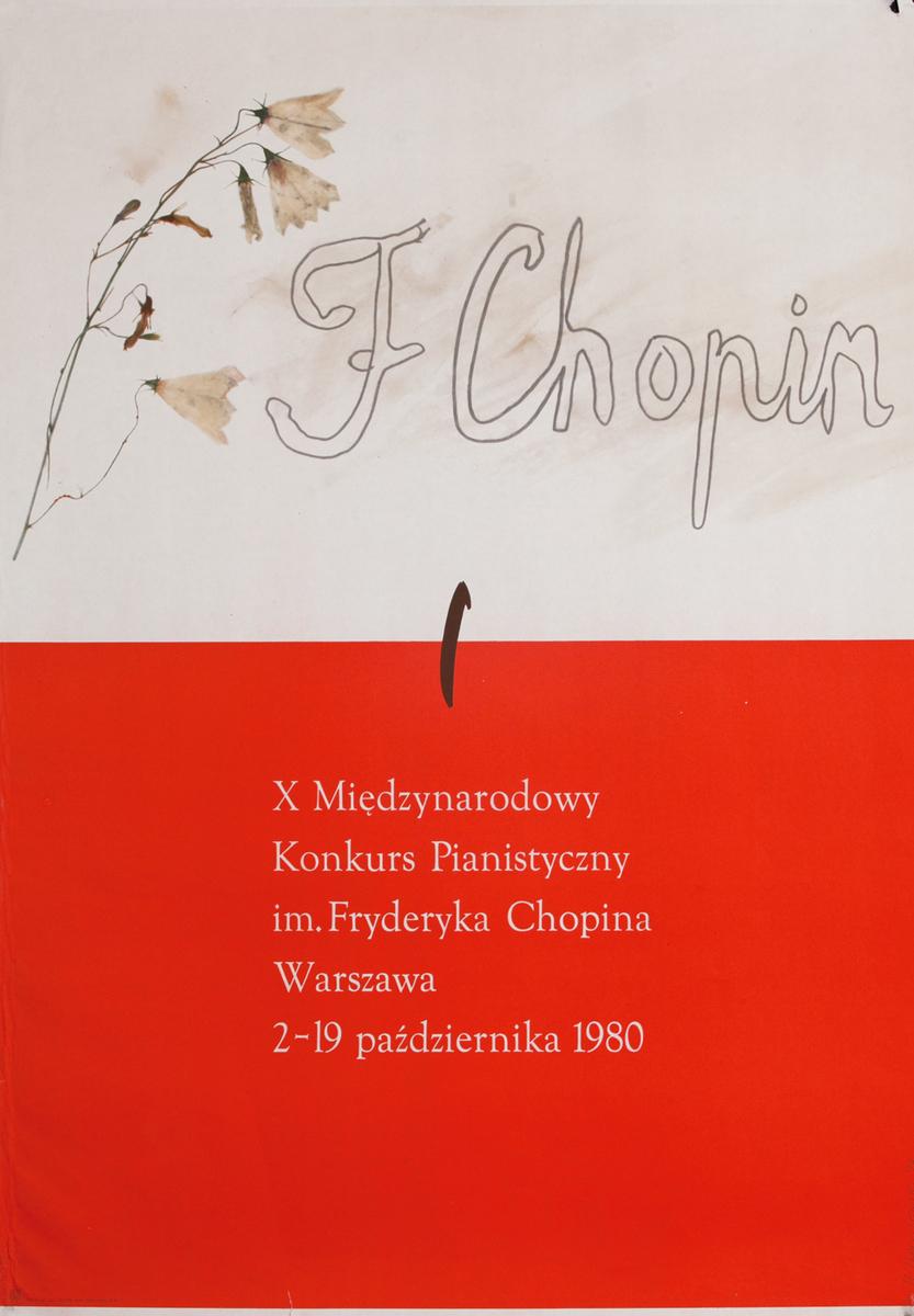 F Chopin  Warsaw 1980