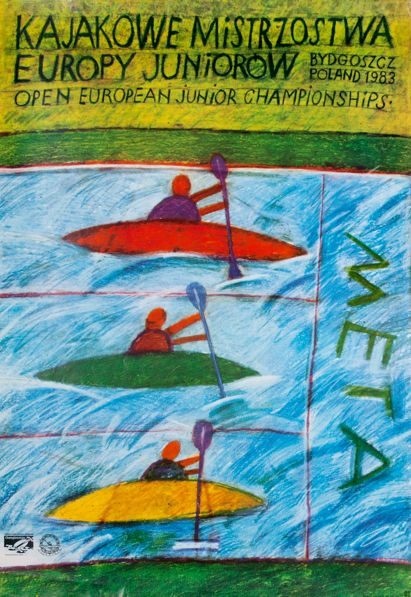 1983 European Junior Championships Kayak