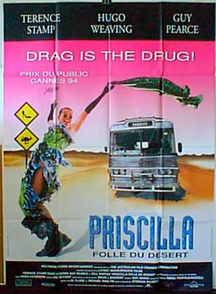 The Adventures of Priscilla, Queen of the Desert Original French Movie Poster