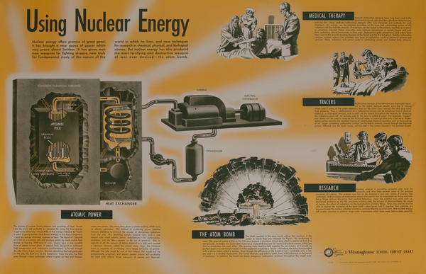 Westinghouse School Service Chart, Using Nuclear Energy