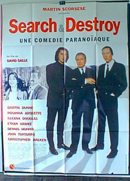 Search and Destroy Original French Movie Poster