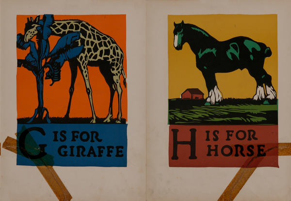 H is for Horse - G is for Giraffe